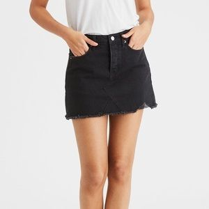 c854df6c8e American Eagle Outfitters Skirts - AE-High-Waisted Festival Denim skirt